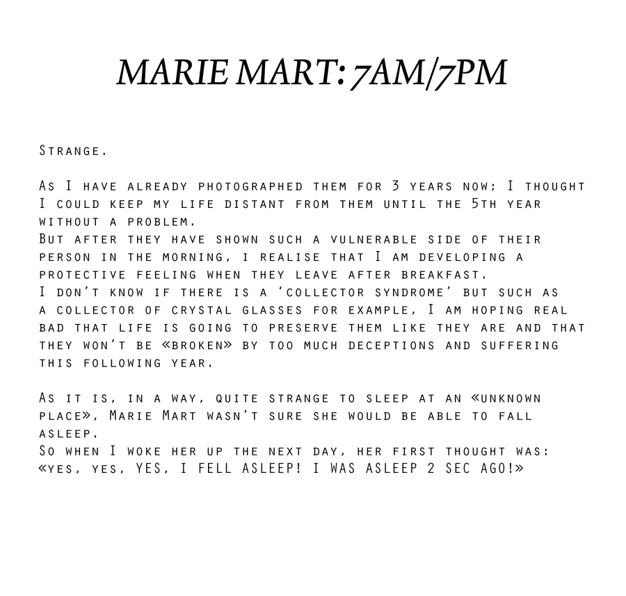 Marie Mart explcation